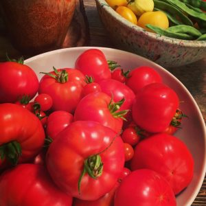 Produce from the garden can fill both the fridge and the pantry