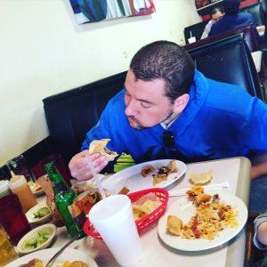 Yeah! Food makes me happy.